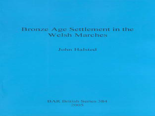 Bronze Age Settlements in the Welsh Marshes